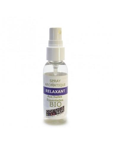 Spray aromatique Relaxant aux huiles essentielles BIO