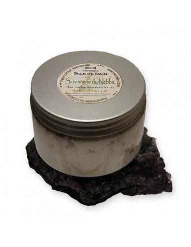 Sel de bain du Nebbiu à l'Immortelle 250ml