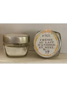 Crème lait d'ânesse et miel