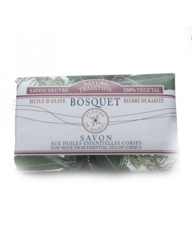 Savon aux huiles essentielles Corses Bio Bosquet
